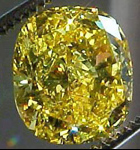vivid yellow diamond