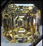 brownish yellow asscher