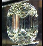 light yellow oval diamond