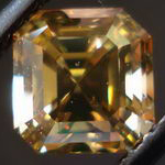 fancy yellow brown diamond