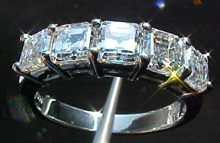 assher diamond band