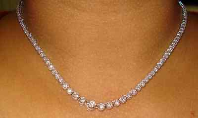 more igi l riviera certificate diamond j necklaces and graduated bracelet necklace tennis id for sale platinum jewelry
