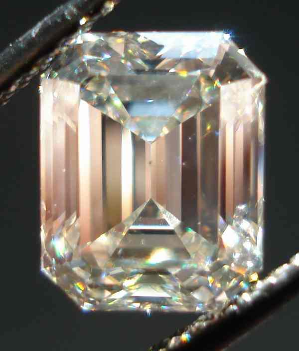 ivory emerald radiant cut diamond