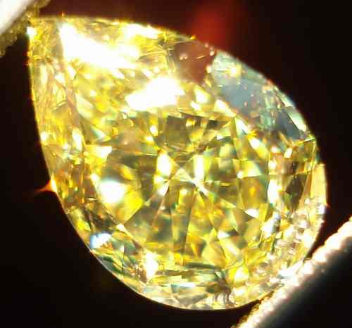 Sold Loose Diamond 1 05ct Fancy Intense Yellow Vvs2