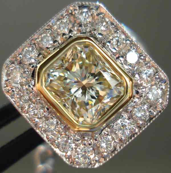 canary diamond tie tacks mens jewelry natural diamond