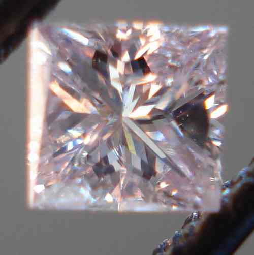 princess cut purple diamond