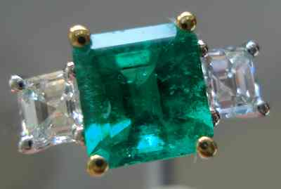 SOLD emerald and diamond ring