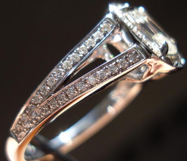 Halo Diamond Rings Cushion Cut Diamonds Split Shank Rings