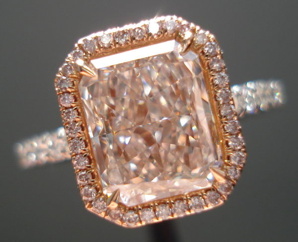 diamond pink natural matching round diamonds light product loose pair