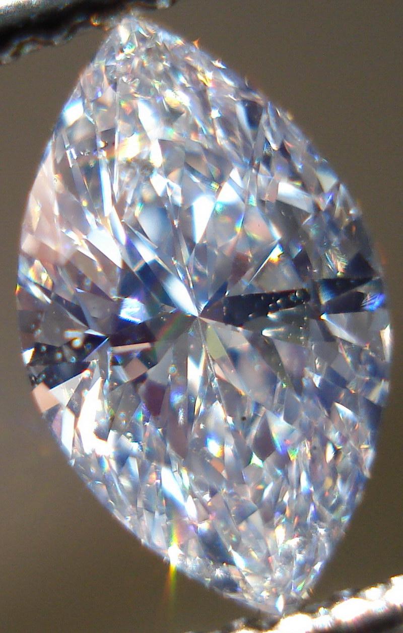 Loose Diamond Marquise Diamond Blue Diamond