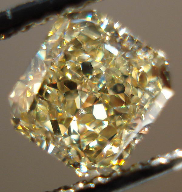 yellow brownish cushion b cut greenish clarity carat diamond fancy id diamonds