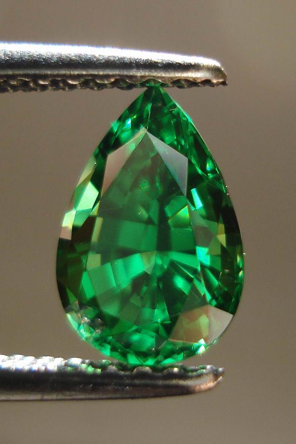 Pear Tsavorite Rich Green Tsavorite Loose Gemstones