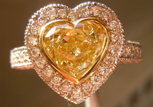 Semi Mount Heart Shaped Halo Setting for 1 50 2 00ct diamonds