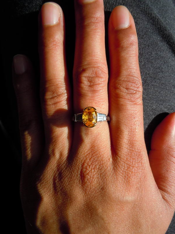 Loose Yellow Sapphire Yellow Sapphires Oval Yellow