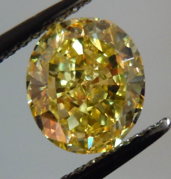 gia fancy intense yellow diamond