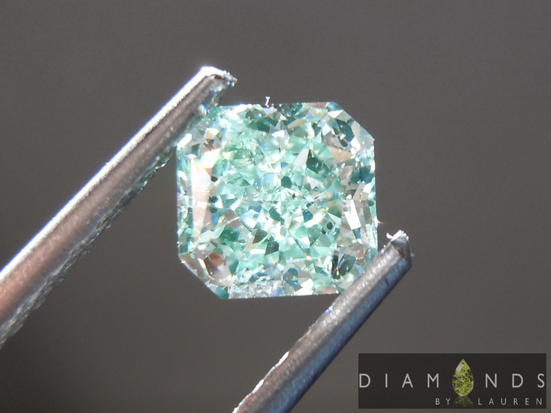 natural green diamond diamond