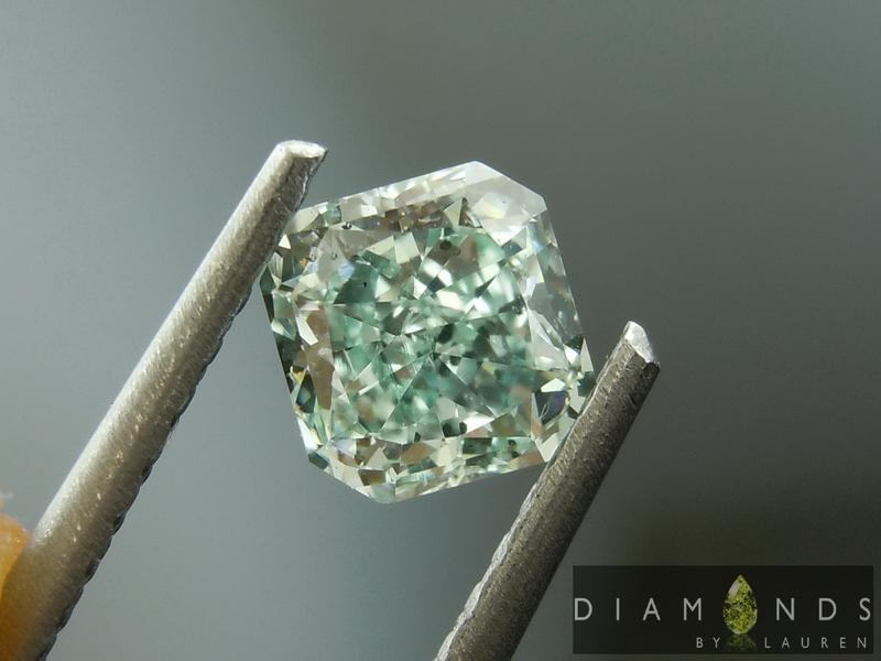 natural blue diamond diamond