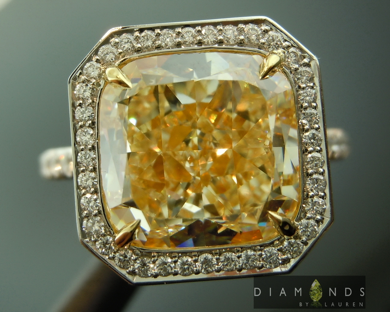 canarydiamond ring