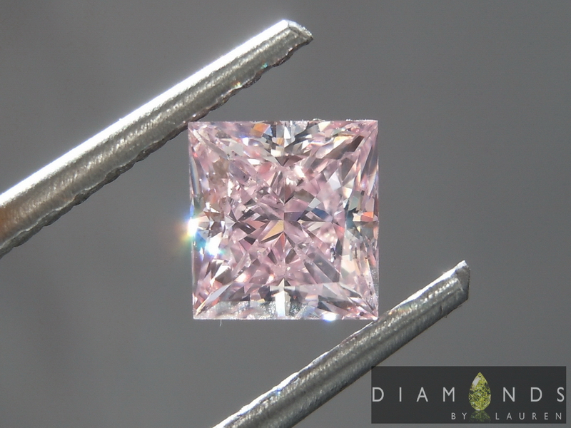 natural pink diamond