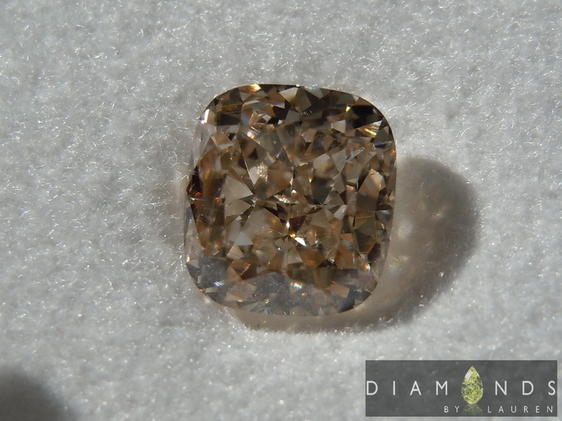 gia light brown diamond