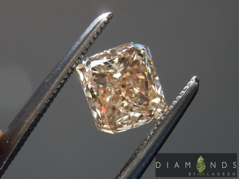 natural light yellow diamond