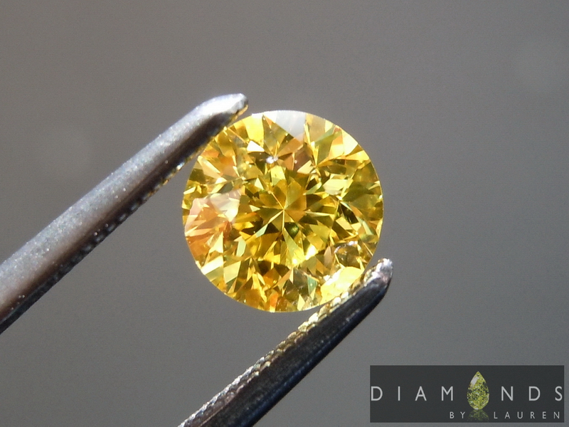 vivid yellow diamonds