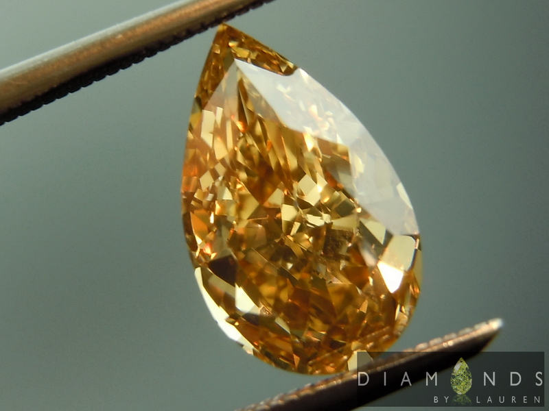 gia fancy yellow brown