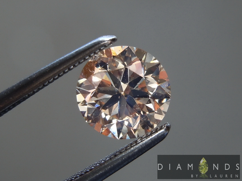 brown oval shape diamond