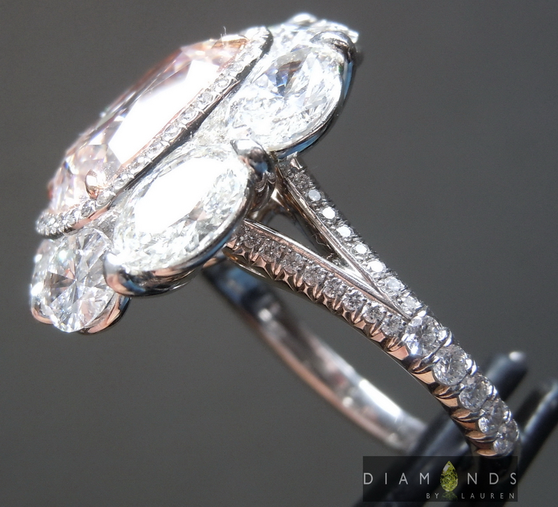 hand forged diamond ring