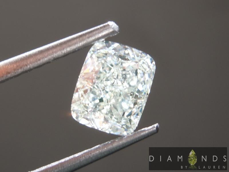 natural gree diamond