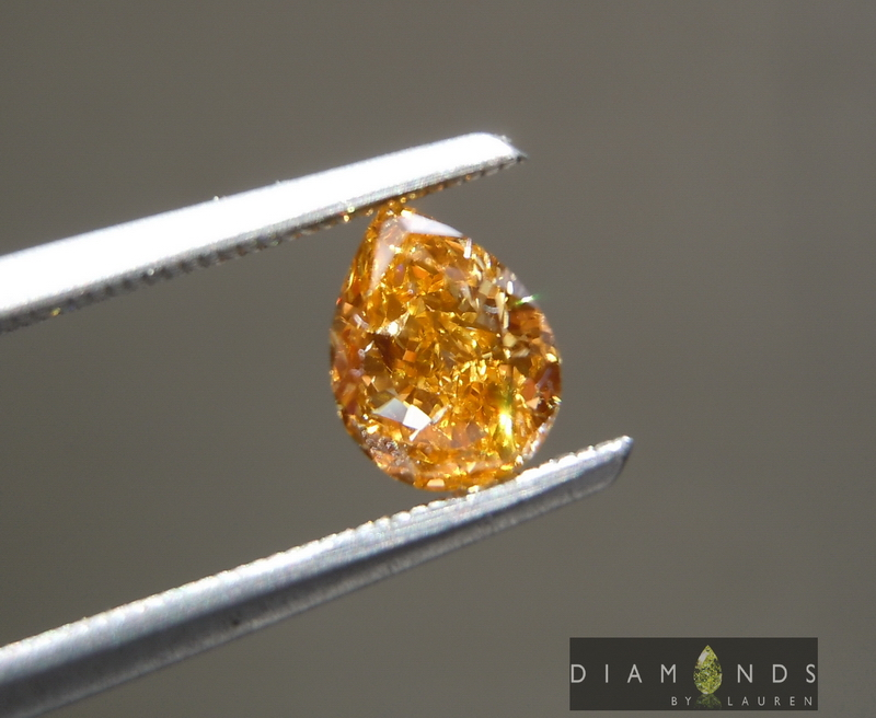 gia ornage diamond