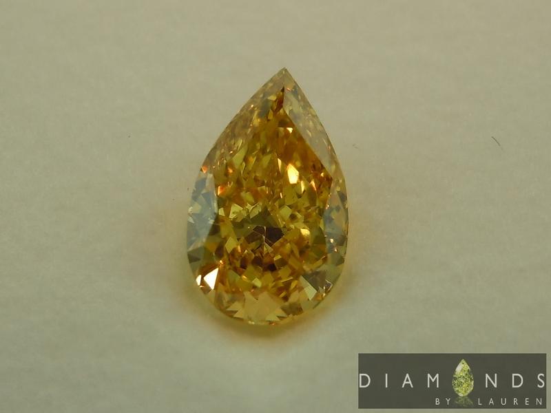 fancy intense orange-yellow diamond
