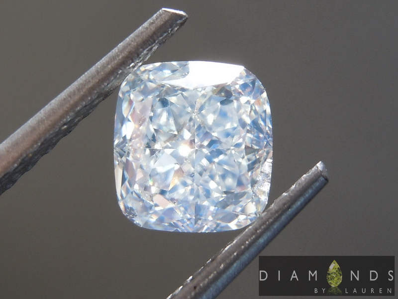 faint green diamond