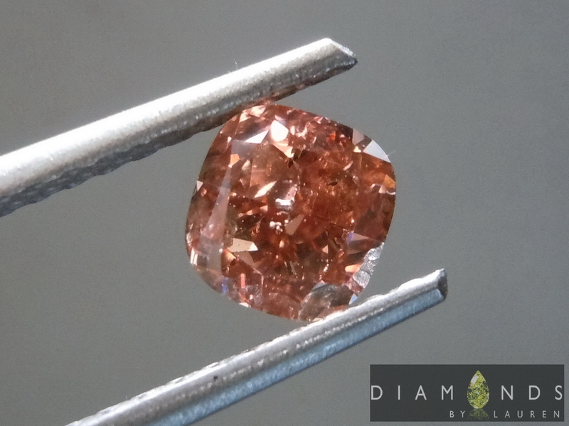 pink brown diamond