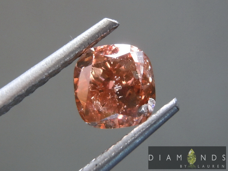 gia fancy deep pink-brown diamond