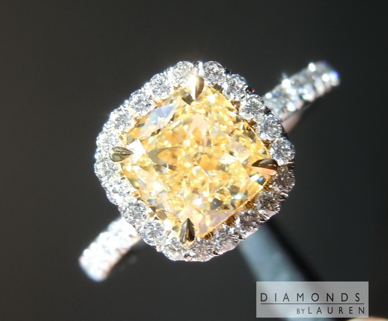 light diamond ring