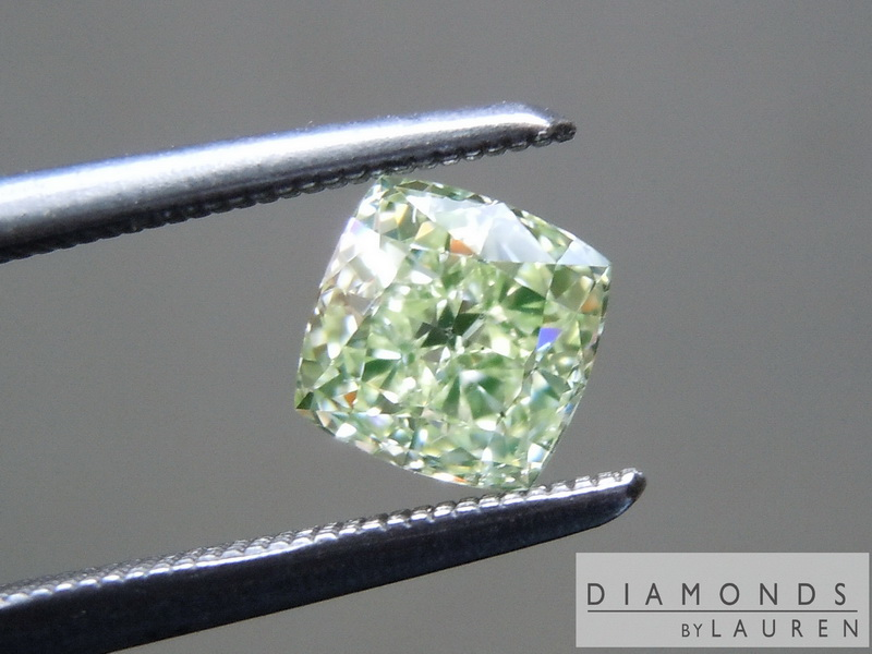 yellow green diamond