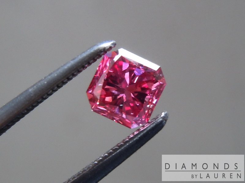 natural red diamond