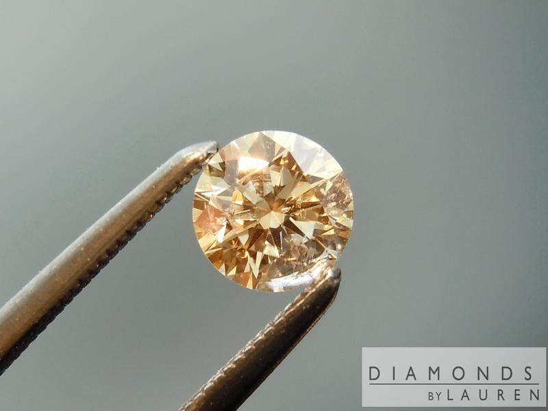 peach diamond