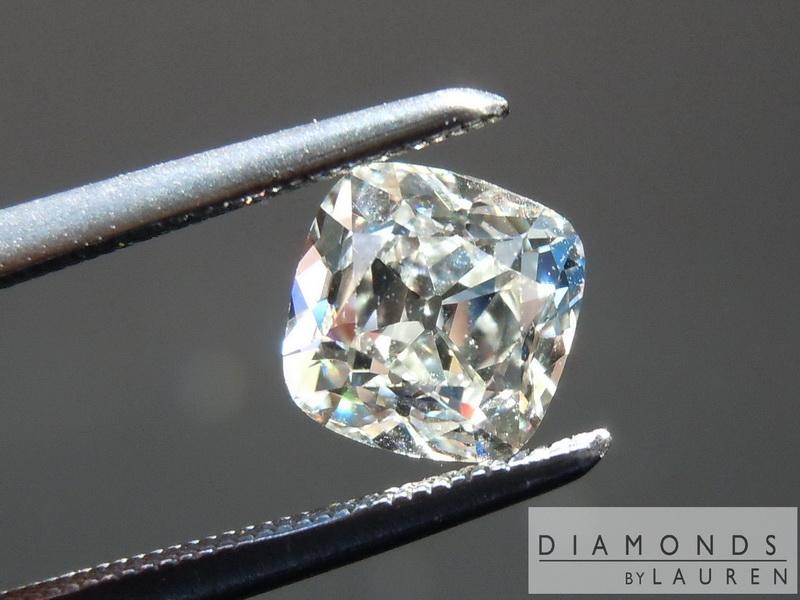 old mine brilliant diamond