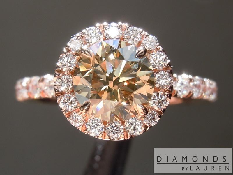 chocolate diamond ring
