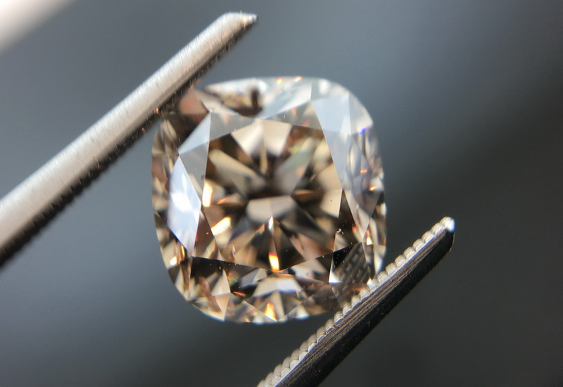 cushion cut cut diamond