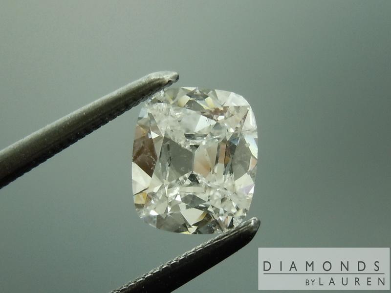 completley colorless diamond