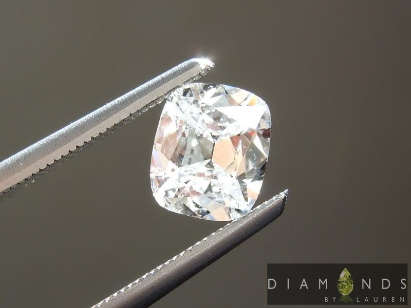 vintage cut diamond