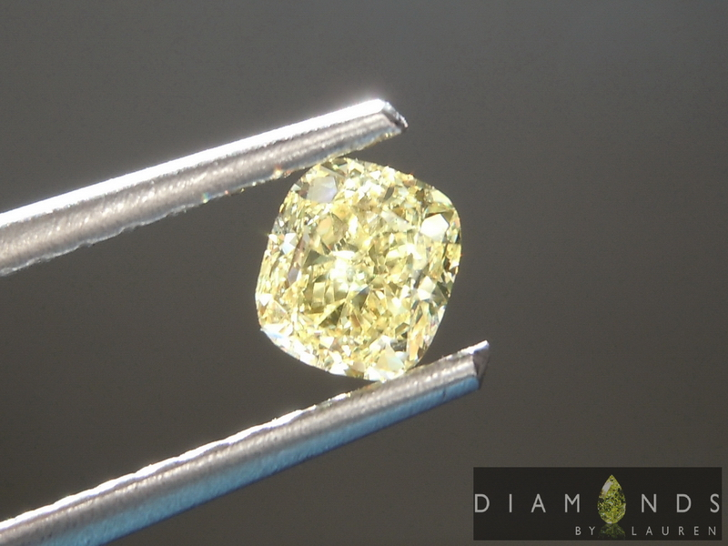 natural yellow diamond