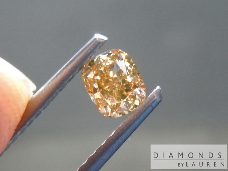 natural brown diamond