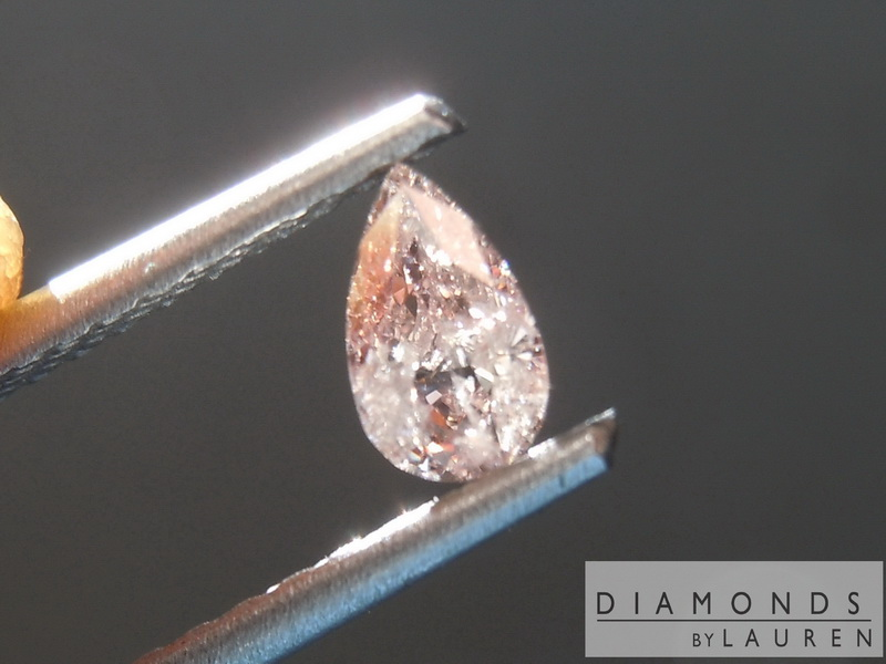 natural piink diamond