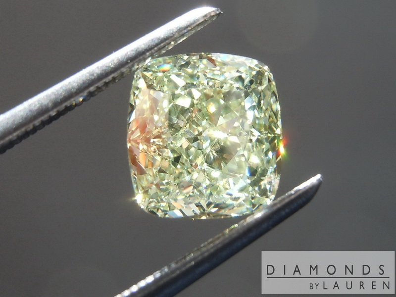 natural green diamond