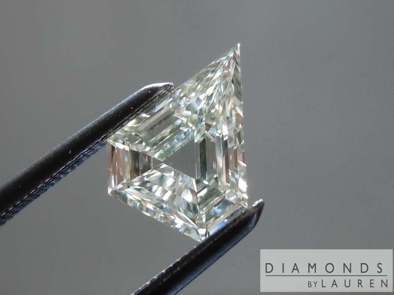 Kite Shape Diamond Step Cut Diamond Loose Diamond