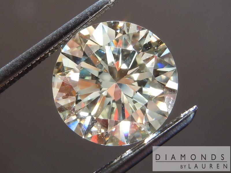 faint yellow diamond